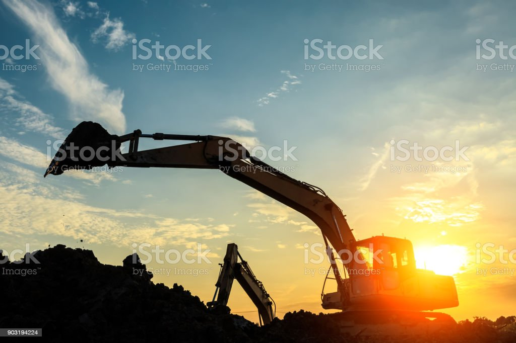 Looking On The Bright Side of Excavators