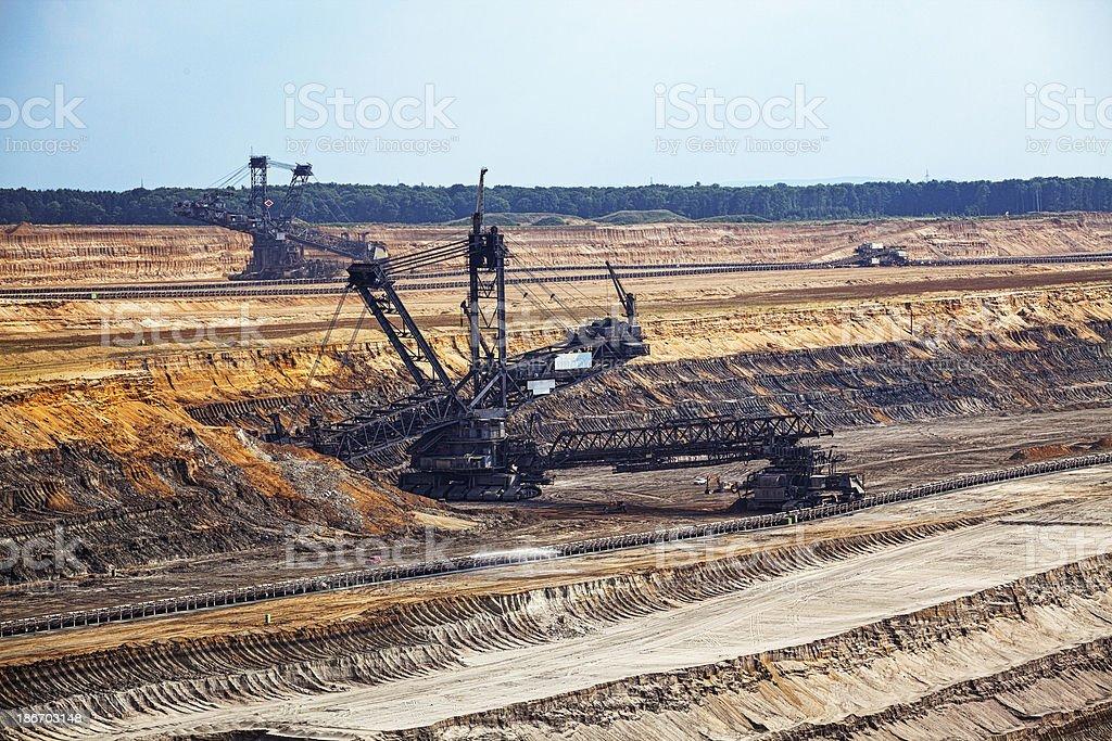 Excavators royalty-free stock photo