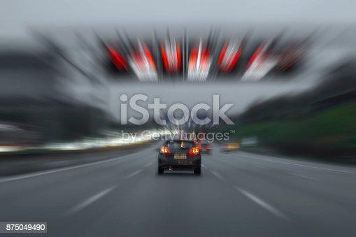 144334852istockphoto Exceeding speed limit 875049490