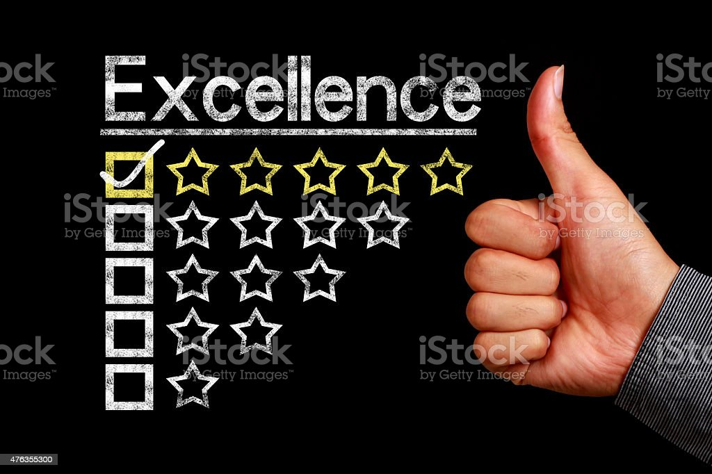 Excellence concept stock photo
