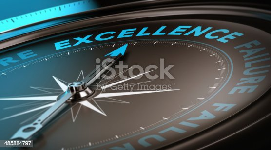 istock Excellence Concept, Quality Service 485884797
