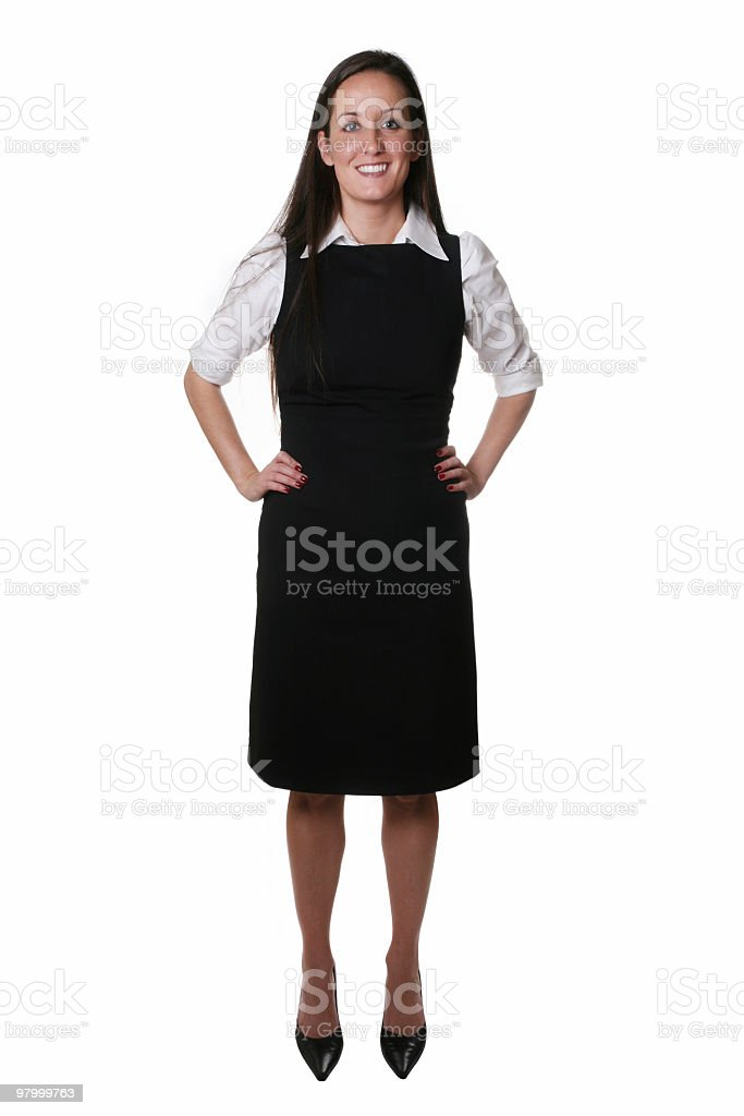 Excellent customer service royalty-free stock photo
