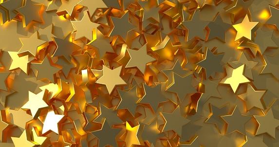 istock Excellent Golden Stars 1145978850