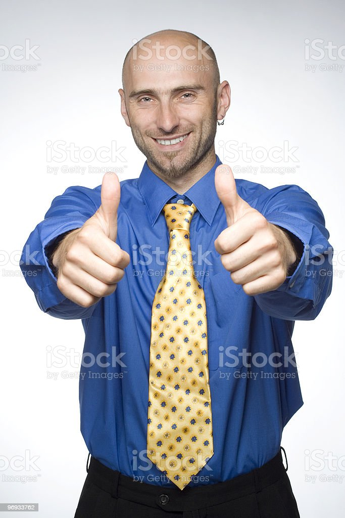 Excellent job! royalty-free stock photo