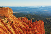 Excellent rock formation. Hoodoos in Bryce Canyon National Park. Utah, United States