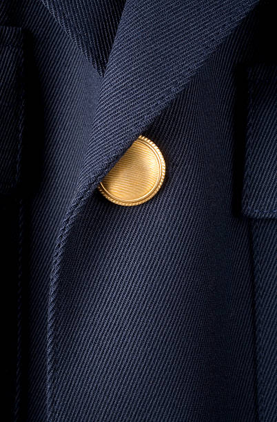 Excellent service Detail of a jacket.Please see some similar pictures from my portfolio: police uniform stock pictures, royalty-free photos & images