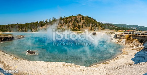 Excelsior Spring in Yellowstone