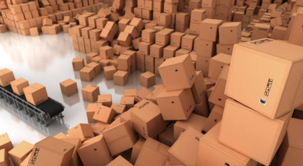 Excess and Overproduction stock photo