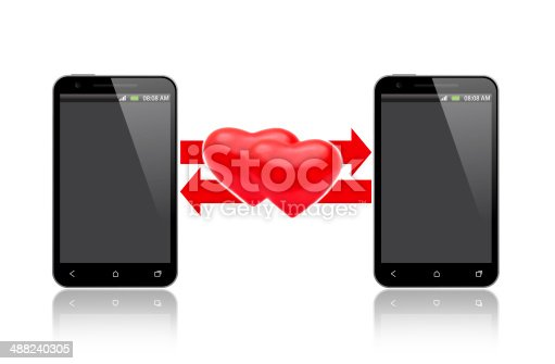 1125634019 istock photo exchange of love over the phone 488240305