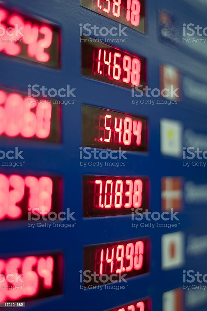 Exchange stock photo