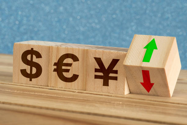 Wechselkurse Währung Dollar Euro Yen – Foto