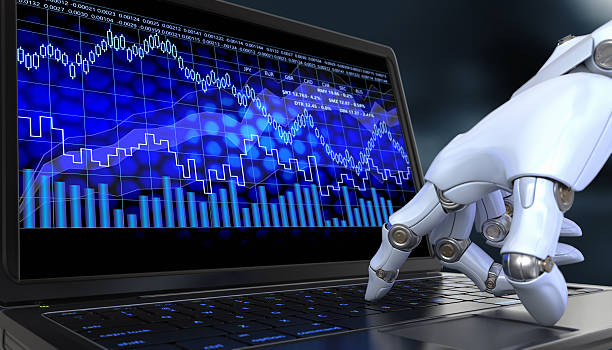 Exchange trade robot ストックフォト