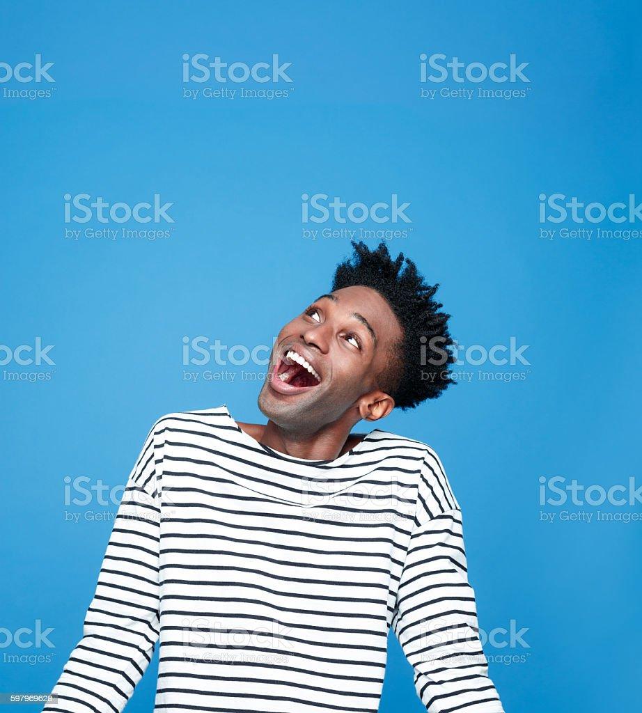 Aufgeregt afro amerikanische Jungen – Foto