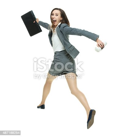 Excited businesswoman runninghttp://www.twodozendesign.info/i/1.png
