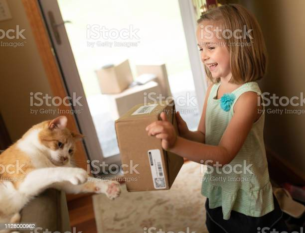 Excited cute little girl showing home delivery shipping delivery box picture id1128000962?b=1&k=6&m=1128000962&s=612x612&h=4 uproq90wwcn66pjjpfd0memvuqubvbpydttylptk4=