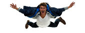 Excited man jumping and fallinghttp://www.twodozendesign.info/i/1.png