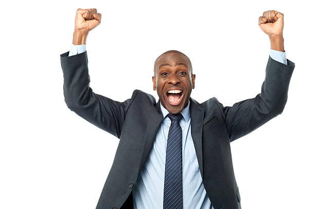 Glücklich mittleren Alter Männlicher executive – Foto