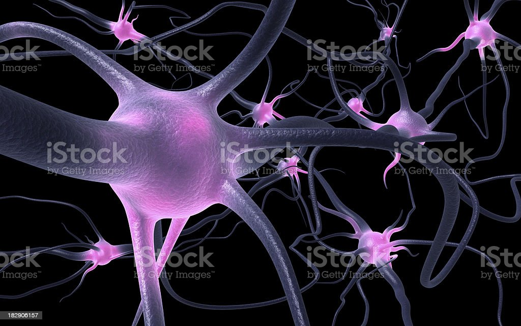 excited nervous centers stock photo