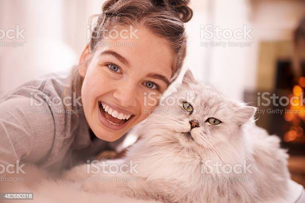 Excited selfies with her feline friend picture id482680318?b=1&k=6&m=482680318&s=612x612&h=4yqkhddwfueiznedvy6mu2b r 4nbzxfsisdab0yq08=