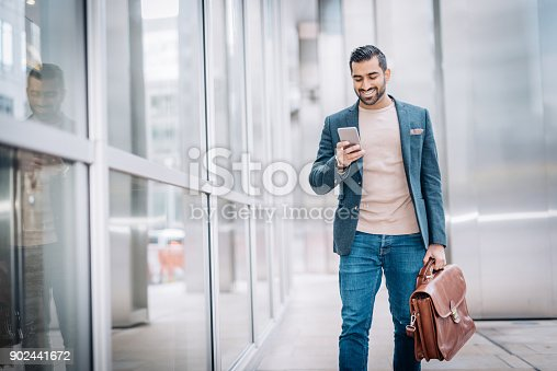 istock Excitement before going to job intervew 902441672
