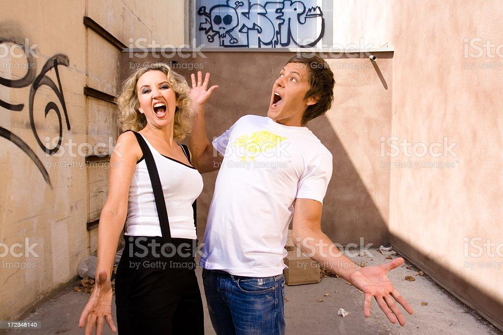 Excitement royalty-free stock photo