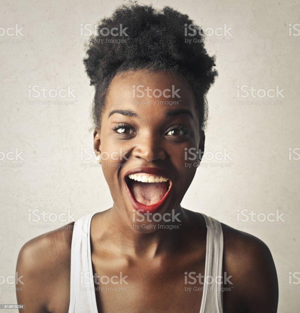 Excitement stock photo