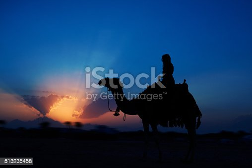 883177796istockphoto exciting sunset riding a camel 513235458