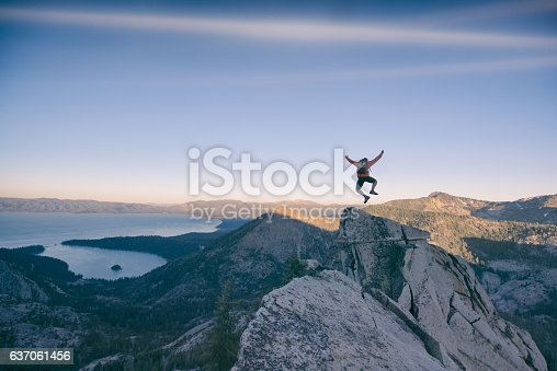 istock Excitment in the mountains 637061456