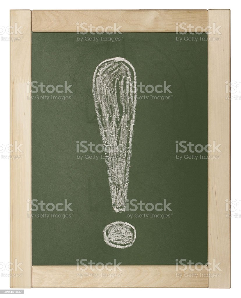 exclamation point stock photo