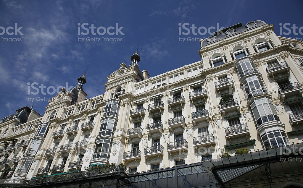 Exclusive apartments royaltyfri bildbanksbilder