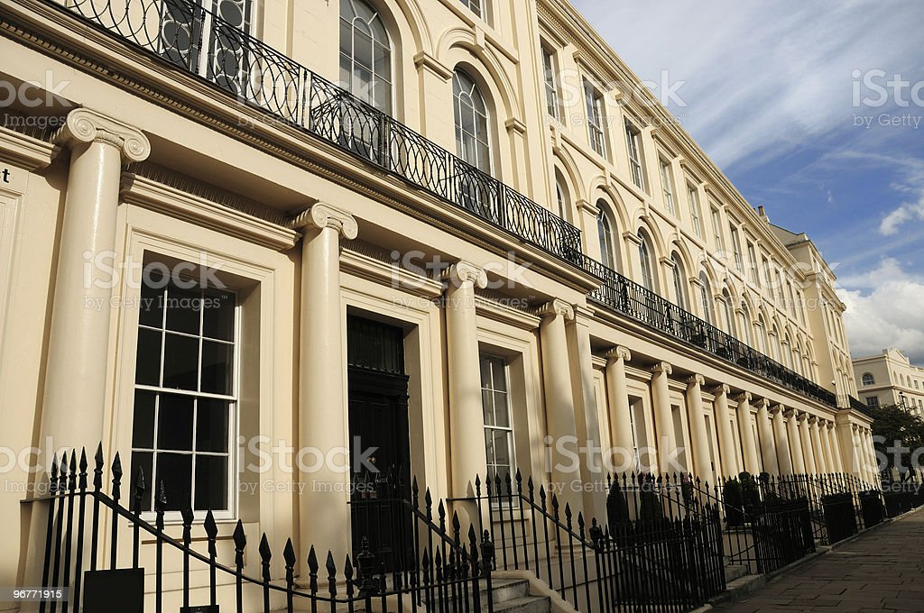 Exclusive London Homes royalty-free stock photo