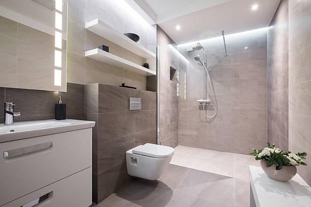 exklusive moderne badezimmer - exklusive mode stock-fotos und bilder