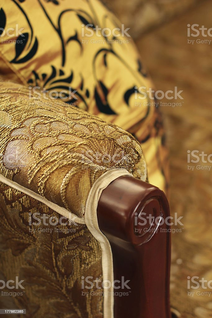 Exclusive Sofa stock photo