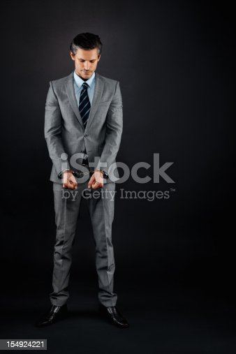 istock Executive being punished 154924221