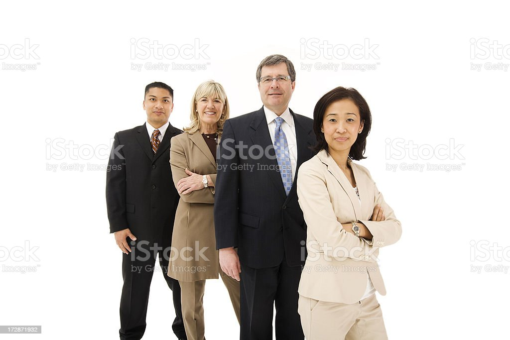 Executive Business Team  (Series) stock photo
