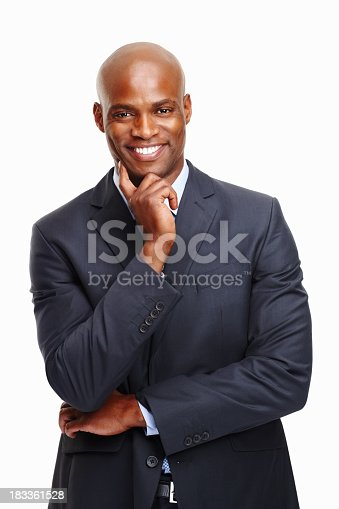 istock Executive happy with decision 183361528