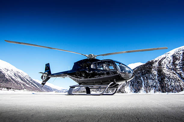Executive Helicopter stock photo