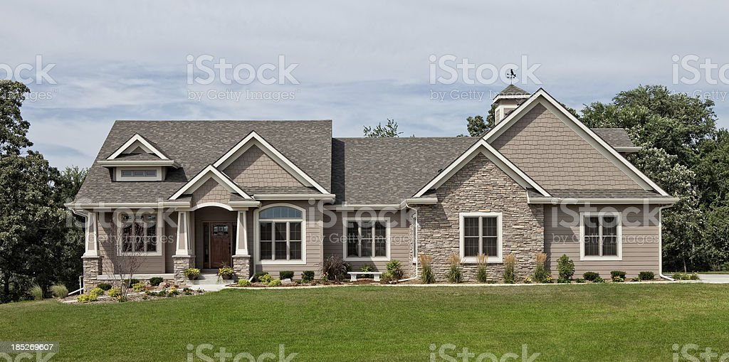 Executive Home stock photo