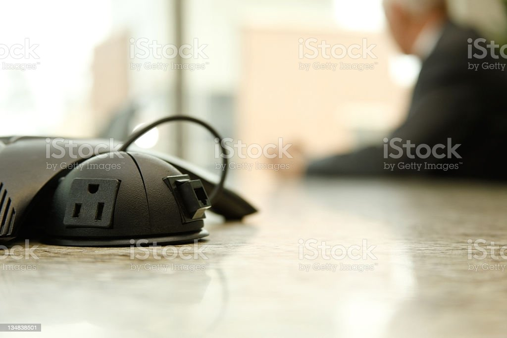 Executive in conference room royalty-free stock photo