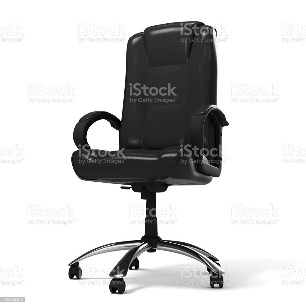 Executive Office Chair royalty-free stock photo