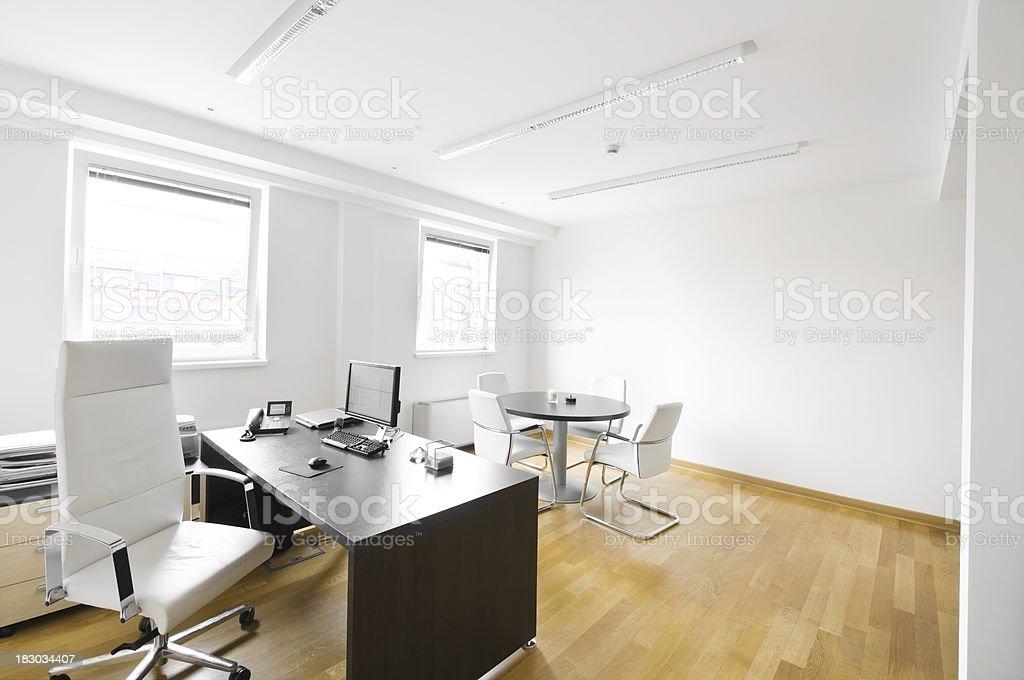 Executive office room. royalty-free stock photo