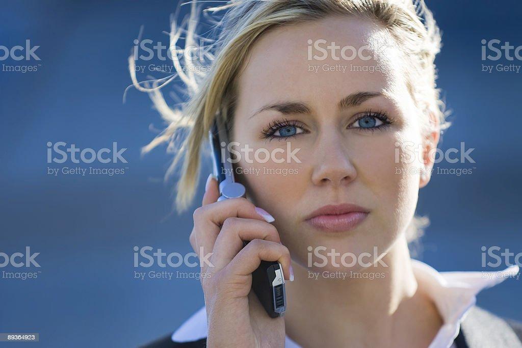 Executive Phonecall royalty-free stock photo