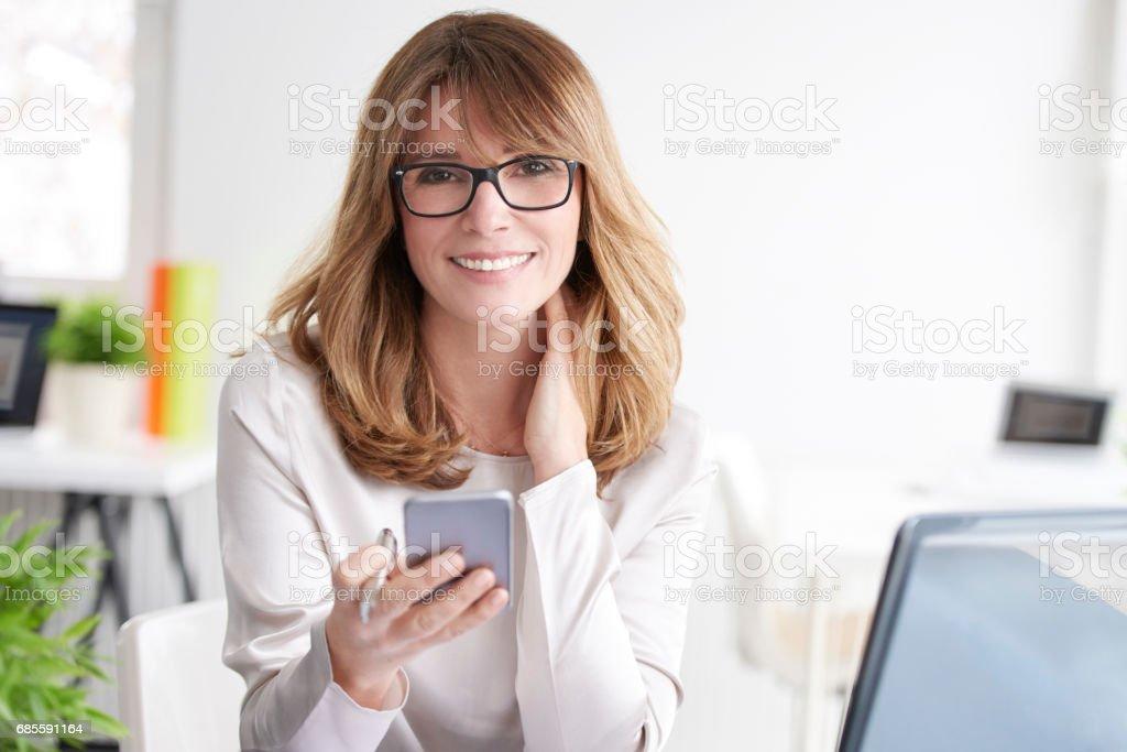 Executive professional woman 免版稅 stock photo