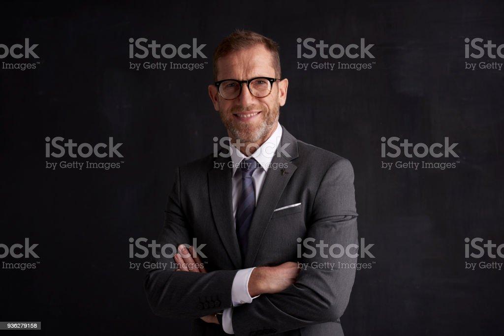 Portrait de l'homme d'affaires senior Executive - Photo