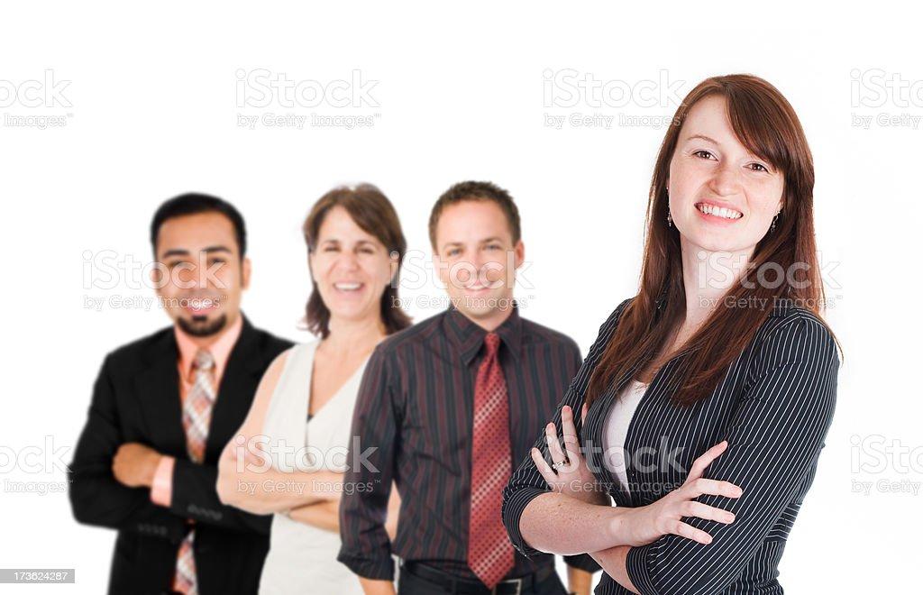 Executive Team royalty-free stock photo