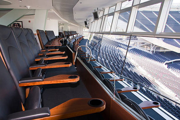 executive view - seat stock photos and pictures