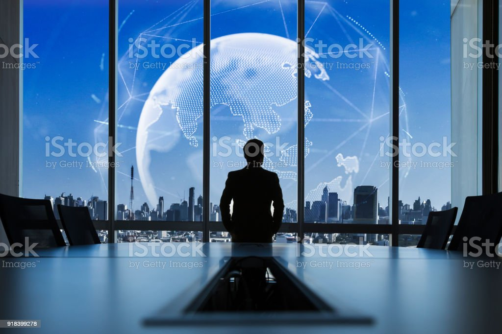 Executive vision. stock photo