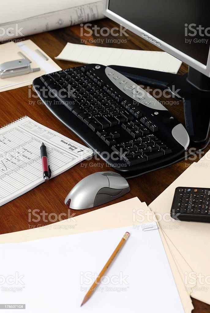 Executive Workdesk 4 royalty-free stock photo
