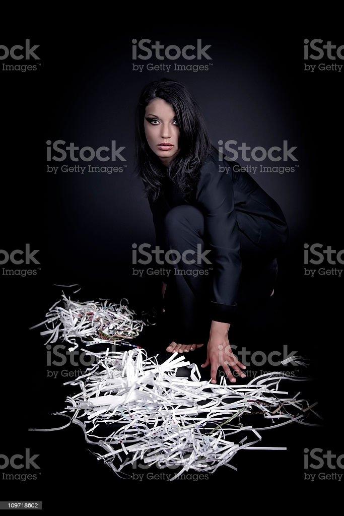 s Chaos стоковое фото