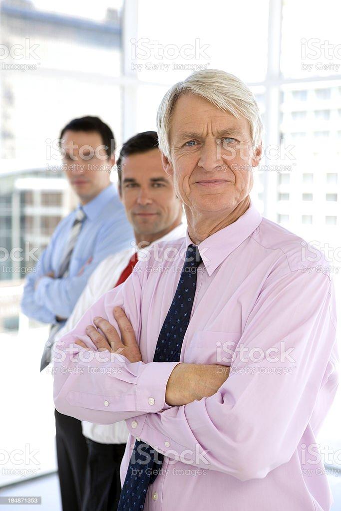 Executives royalty-free stock photo